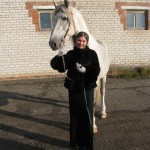 На конном заводе в Перми