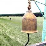 3, Ипподромный колокол, изготовленный Владимиром Ершовым, исправно служит