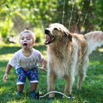 Friendship between children and animals (10)