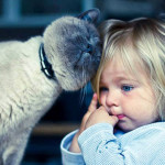 Friendship between children and animals (5)